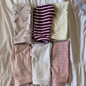 6 pairs Old Navy size 4T leggings